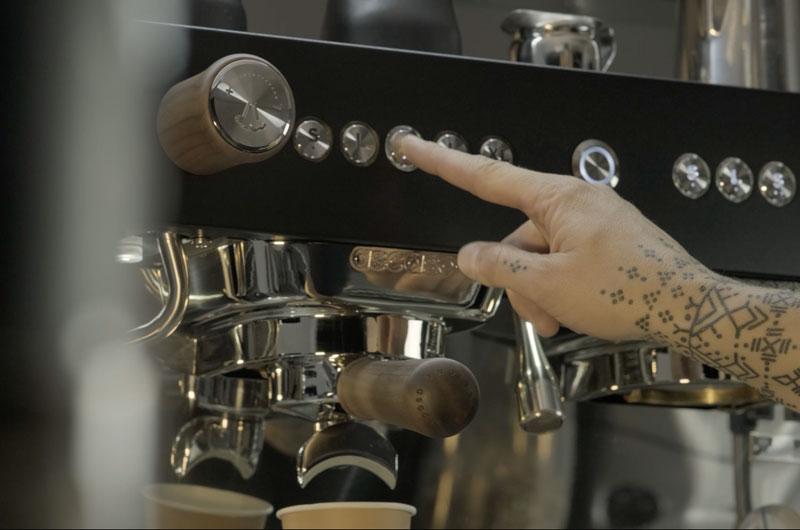 Machine à café espresso barista